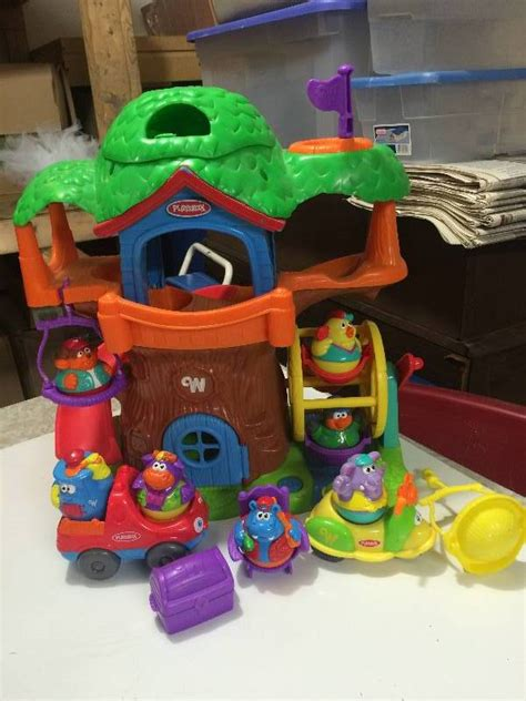 playskool house playskool weebles tree house childrens toys k bid