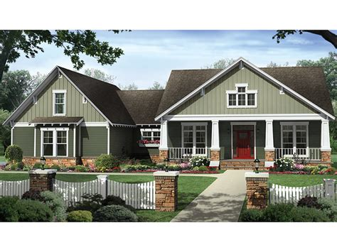 Weinmaster House Plans Craftsman Style House Plan 4 Beds 2 5 Baths 2199 Sq Ft Plan 21 438 Floorplans