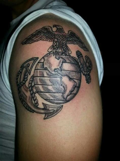 usmc ega tattoo by nikki me at finest of lines tattoo