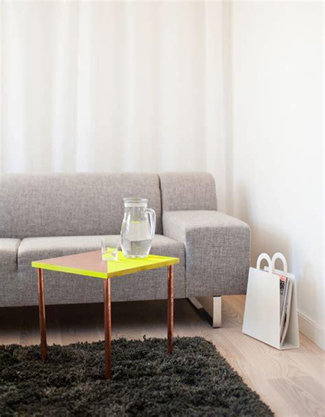 diy copper table legs simple diy ideas for a stylish table