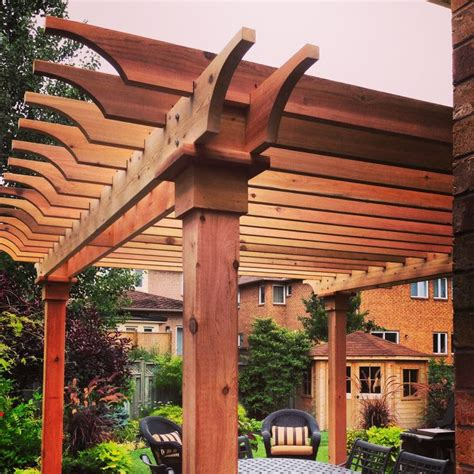 181 Best Images About Pergola Ideas On Pinterest Deck Cedar Pergola Designs