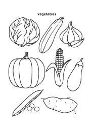 printable vegetable template fruit and vegetable template free google search