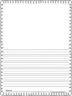 Primary Grade Writing Paper Free Lined Paper With Space For Story Illustrations