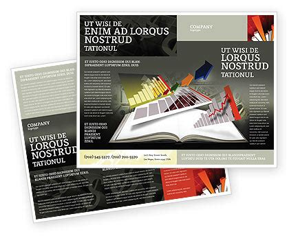 book brochure template diagram in the book brochure template design and layout