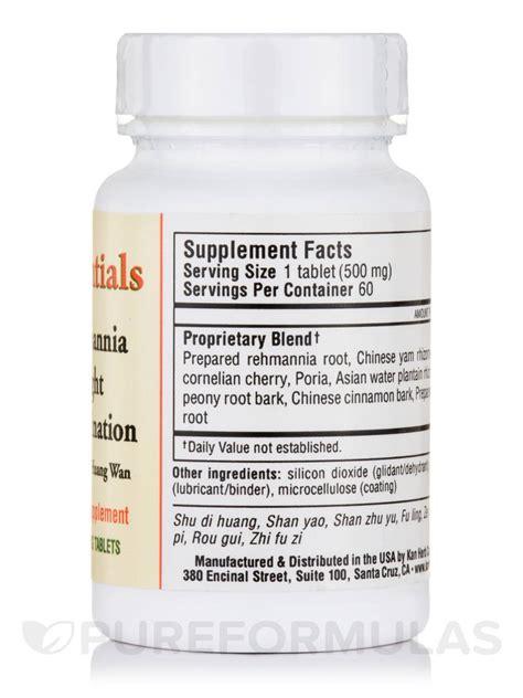C Combo 60 Tablet Treelains rehmannia eight combination 500 mg 60 tablets