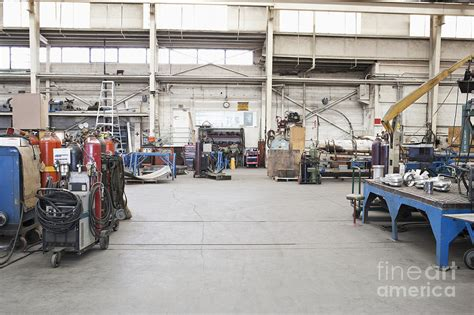 Interior Layout App metal fabrication shop interior photograph by jetta