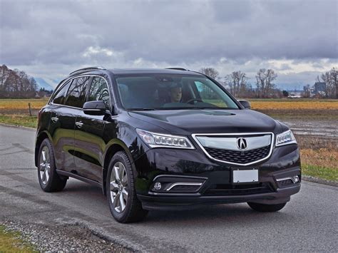 2016 acura mdx review 2016 acura mdx sh awd elite road test review carcostcanada