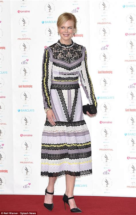 fashion for 48 year old woman nicole kidman leads the stars at the 60th women of the