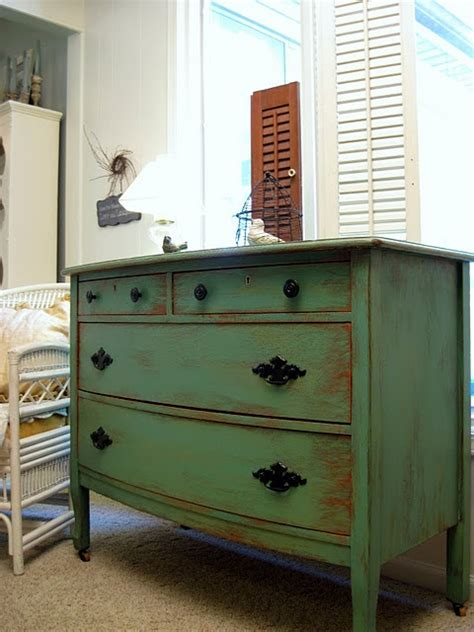 Ideas For Refinishing An Dresser by How To Paint And Distress An Dresser Refinished