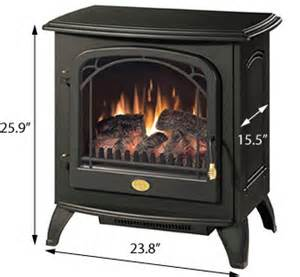 Black freestanding electric stove with remote control ds5603