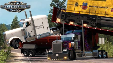 kenworth vs peterbilt truck simulator fender bender kenworth vs