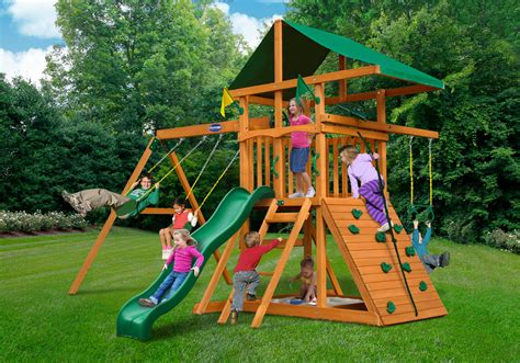 Play Nation Swing Sets Long Island Ny Wood Kingdom West