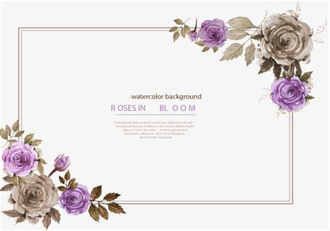 Wedding Invitation Border Eps by Purple Border Invitation Vector Material Invitation