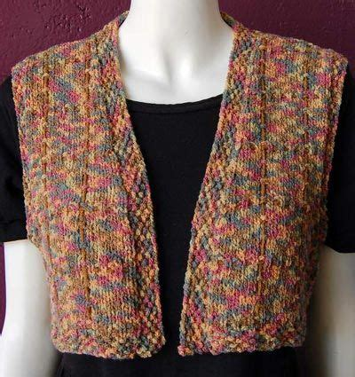 easy knit vest free patterns knit vest tric 244