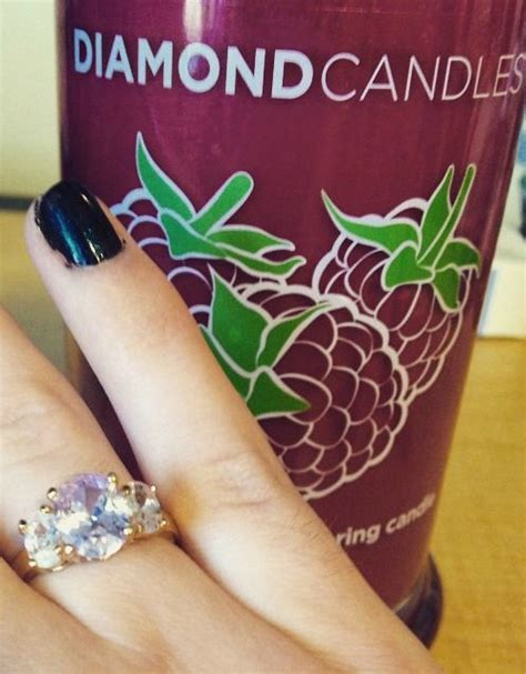 candles diamonds and rings on pinterest