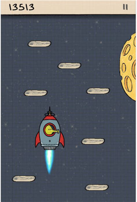 doodle jump rocket android horrorthon oh my god doodle jump
