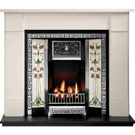 Brompton Limestone Fireplace by Value Gallery Brompton Fireplace