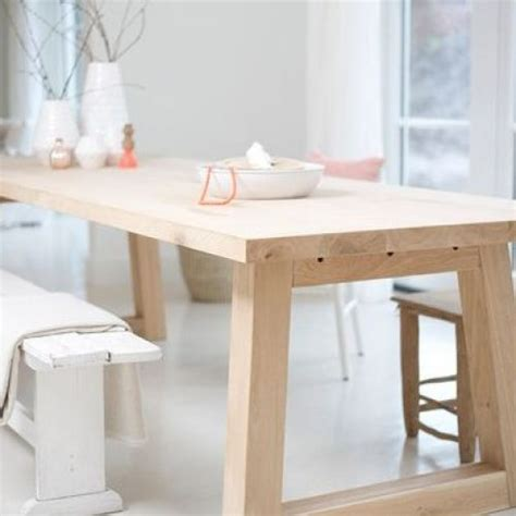 table lisse en chene house dining room table home