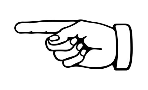 pointing finger clipart pointing clipart pointing finger clipart kid