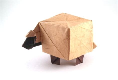 Origami Sheep Easy - origami sheep diagrams images