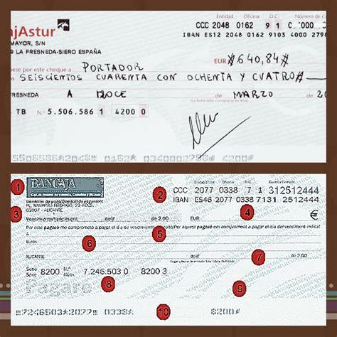 pagare conformado por el banco productos bancarios xii talonarios de cheques vs
