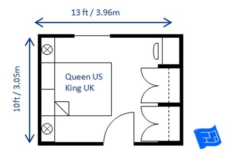 Standard Size Of A Master Bedroom by Bedroom Size