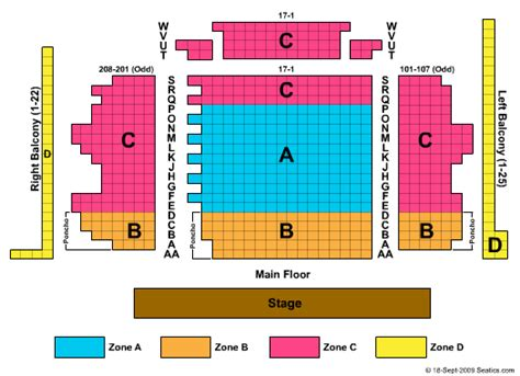 blue seating chart chicago briar theatre seating chart