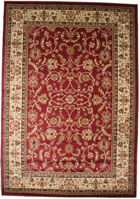 8x10 Area Rug New Persian Border Floral Kashan Claret Red Area Rugs 8x10