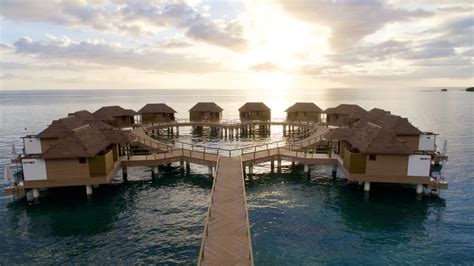 sandals south coast opens booking on overwater bungalows paradise found sandals south coast overwater bungalows