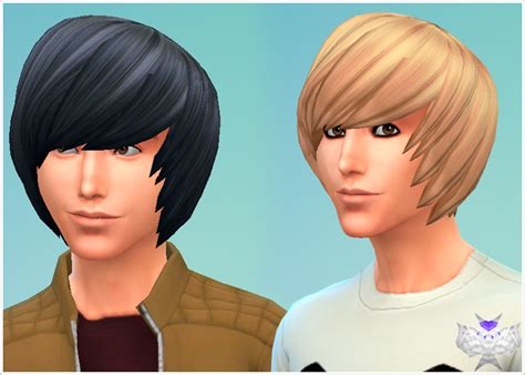 emo boy sims 4 emo hair david sims