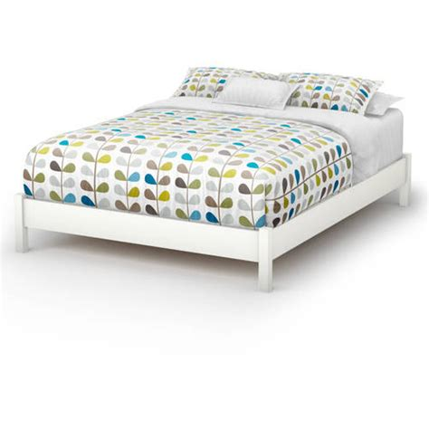 queen beds at walmart south shore soho queen platform bed multiple finishes