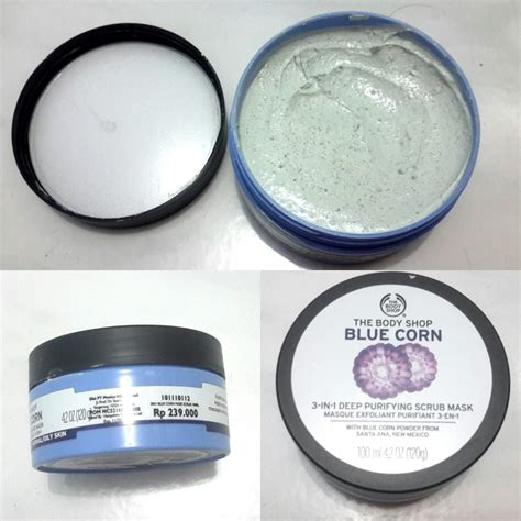 Blue Corn Purifying Scrub Mask The Shop Original dessidess thoughts the shop blue corn