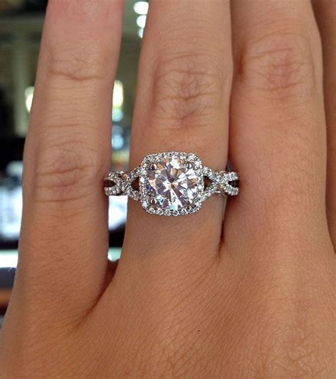 Gold Square Engagement Rings by Best 25 Engagement Rings Princess Ideas On