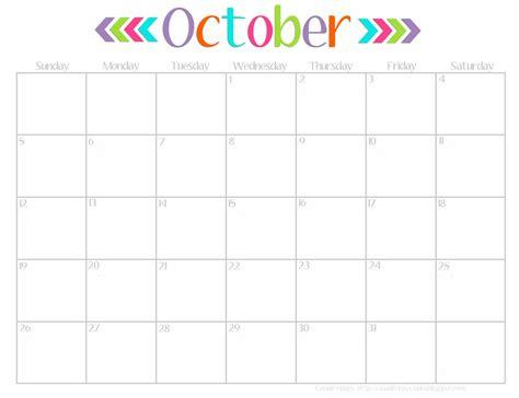 Printable Calendar October 2015 Cute   7 best images of cute free printable calendar october 2015