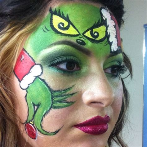 swing makeup quot how the grinch stole christmas quot inspired makeup swing by