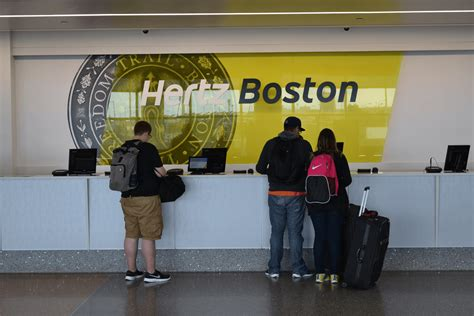 rent a boston hertz car rental boston logan international airport