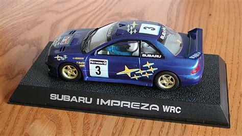 scalextric subaru challenge impreza models toys and radio