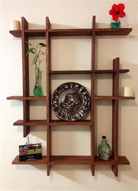 diy wooden pallets decorative shelf ideas pallets designs