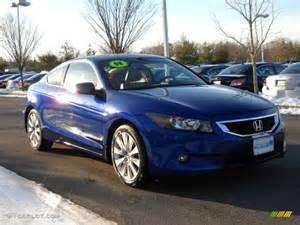 2008 belize blue pearl honda accord ex l v6 coupe