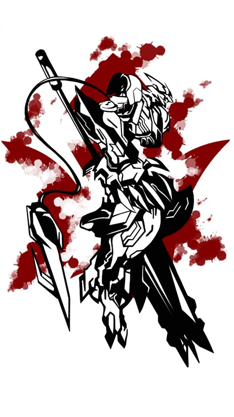 barbatos lupus rex by dadosgila on deviantart