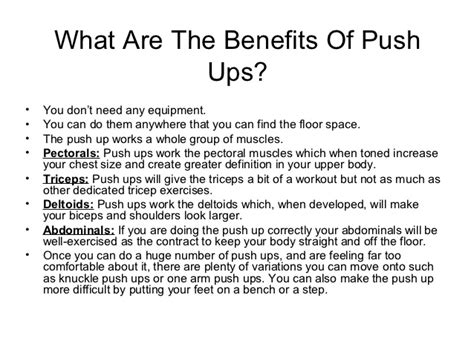 bench press benefits push ups vs bench press