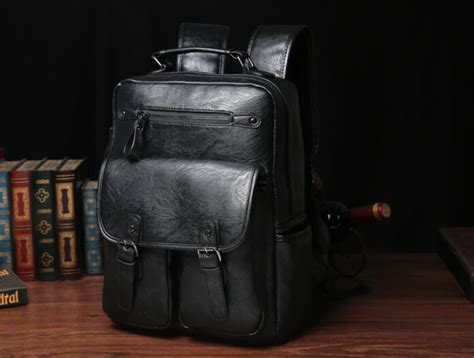 Tas Ransel Vintage Vv Fashion Vintage Backpack Black tas ransel kulit japan vintage black jakartanotebook
