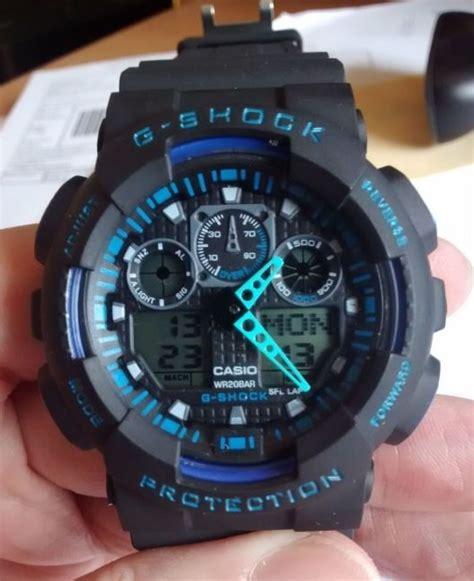 G Shock Ga 100 Oribm zegarek casio g shock ga100 w zegarki szafa pl