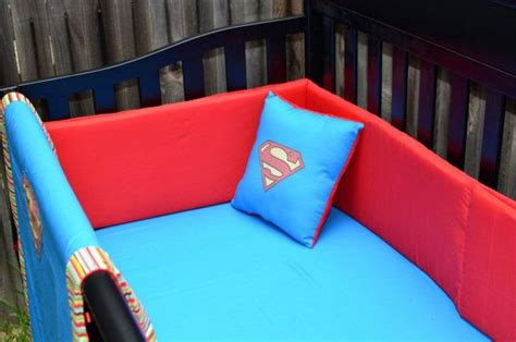 superman bed set geek baby baby bedding and crib bedding on pinterest
