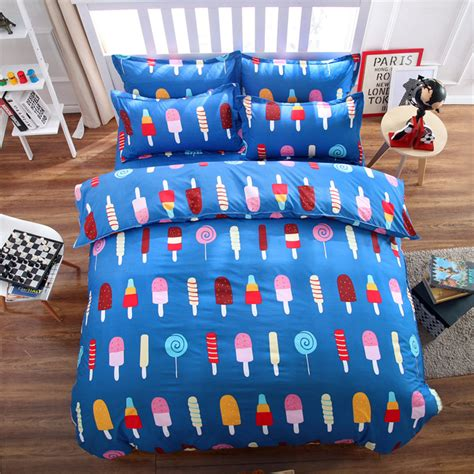 icecream colorful bedding bed sets queen queen king