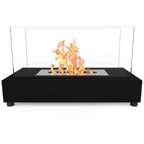 regal avon table top indoor outdoor ethanol fireplace