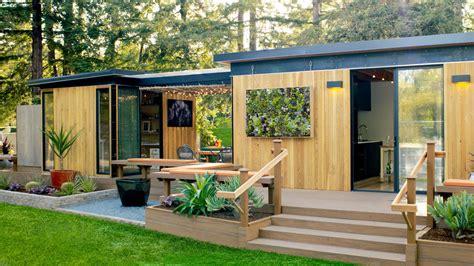 a modern cottage story furniture modern cottage prefab sunset