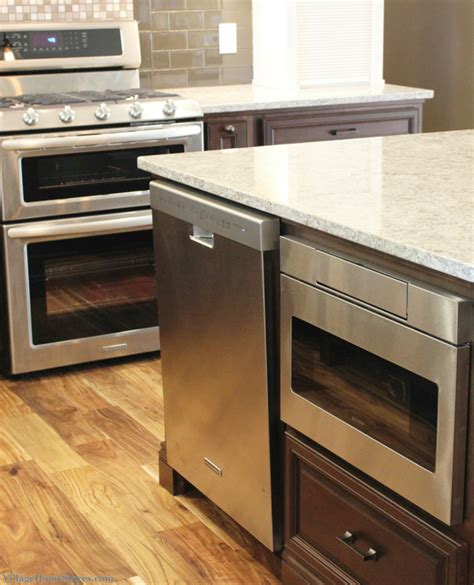 kitchen island with microwave drawer taylor ridge kitchen remodel village home stores