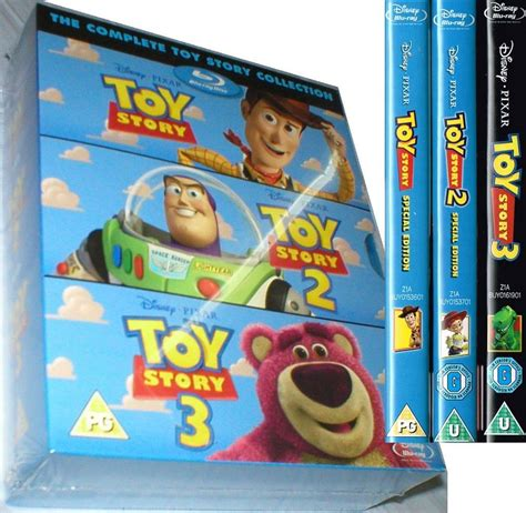 3 In 1 Toys Set story trilogy 1 2 3 brand new collection box