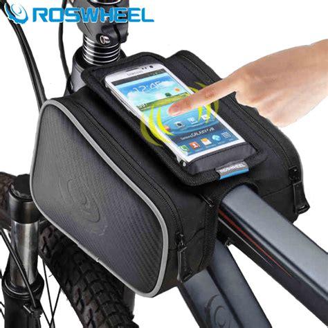 Tas Sepeda Jakartanotebook roswheel tas sepeda waterproof dengan smartphone